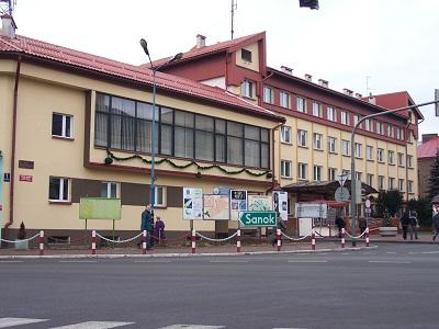 Siedziba ZEAS w budynku Urzędu Miasta i Gminy Brzozów